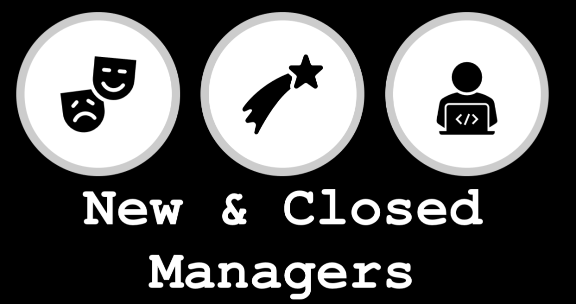 New and Closed Managers April 2020